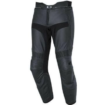 Held Turn Leather Sports Motorcycle Motorbike Pants Trousers Jeans - Black